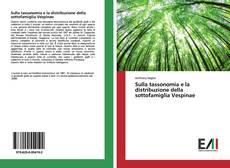Copertina di Sulla tassonomia e la distribuzione della sottofamiglia Vespinae