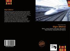 Capa do livro de Elgin (Metra)