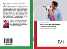 Capa do livro de Donne africane al ministero: L'esperienza nigeriana