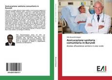 Bookcover of Assicurazione sanitaria comunitaria in Burundi