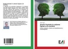 Bookcover of Analisi frontale in colonne lignee e di scambio