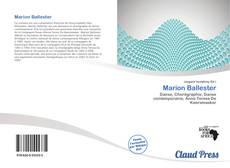 Portada del libro de Marion Ballester