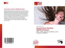 Bookcover of Cavernous Venous Malformation