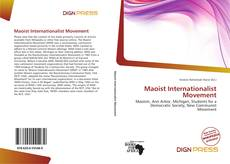 Bookcover of Maoist Internationalist Movement
