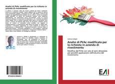 Bookcover of Analisi di PVAc modificato per la richiesta in azienda di rivestimento