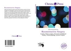 Bookcover of Reconstructive Surgery