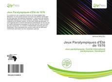 Bookcover of Jeux Paralympiques d'Été de 1976