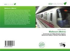 Capa do livro de Matteson (Metra)