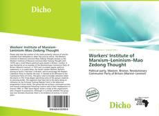 Borítókép a  Workers' Institute of Marxism–Leninism–Mao Zedong Thought - hoz