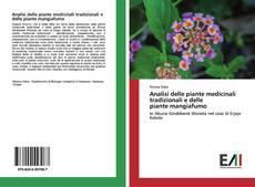 Bookcover of Analisi delle piante medicinali tradizionali e delle piante mangiafumo