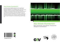 Copertina di Alex Oxlade-Chamberlain