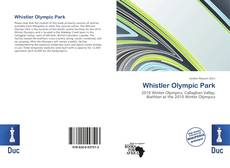 Whistler Olympic Park kitap kapağı