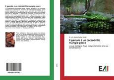 Il gaviale è un coccodrillo mangia-pesce kitap kapağı