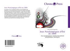 Bookcover of Jeux Paralympiques d'Été de 2008