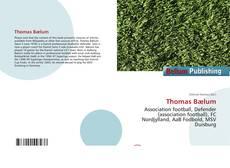 Buchcover von Thomas Bælum