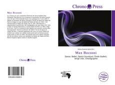 Copertina di Max Bozzoni