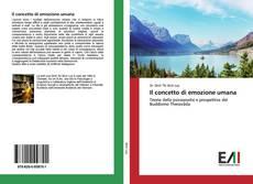 Buchcover von Il concetto di emozione umana