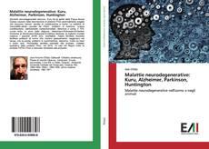 Portada del libro de Malattie neurodegenerative: Kuru, Alzheimer, Parkinson, Huntington