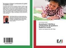 Bookcover of Accentuare il diritto a un'istruzione di qualità in Sudafrica rurale