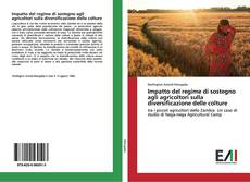 Copertina di Impatto del regime di sostegno agli agricoltori sulla diversificazione delle colture