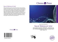 Bookcover of Sayed Mahmood Jalal