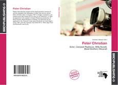 Peter Christian kitap kapağı