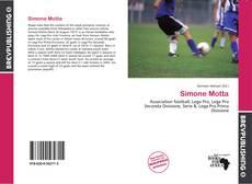 Portada del libro de Simone Motta