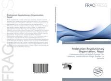 Bookcover of Proletarian Revolutionary Organisation, Nepal