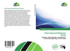 Bookcover of International Workers Party