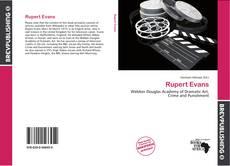 Rupert Evans kitap kapağı