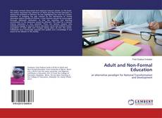 Copertina di Adult and Non-Formal Education