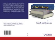 Sociological Research kitap kapağı