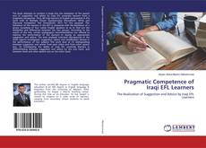 Обложка Pragmatic Competence of Iraqi EFL Learners