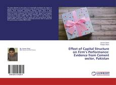 Copertina di Effect of Capital Structure on Firm's Performance: Evidence from Cement sector, Pakistan