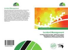 Buchcover von Incident Management