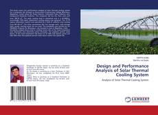 Обложка Design and Performance Analysis of Solar Thermal Cooling System