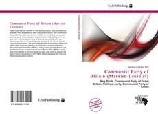 Capa do livro de Communist Party of Britain (Marxist–Leninist)