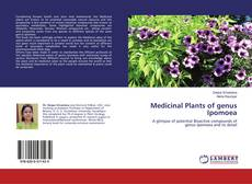 Capa do livro de Medicinal Plants of genus Ipomoea