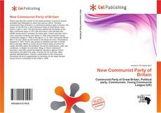 Capa do livro de New Communist Party of Britain