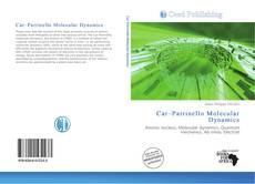 Bookcover of Car–Parrinello Molecular Dynamics