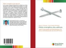Обложка Efeito sinergético dos aditivos