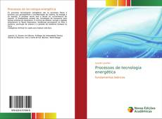 Processos de tecnologia energética kitap kapağı