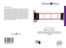 Bookcover of Rose Leslie