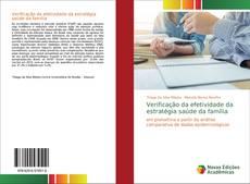 Capa do livro de Verificação da efetividade da estratégia saúde da família