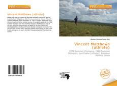 Portada del libro de Vincent Matthews (athlete)