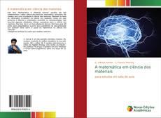 A matemática em ciência dos materiais kitap kapağı