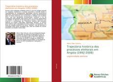 Capa do livro de Trajectória histórica dos processos eleitorais em Angola (1992-2008)