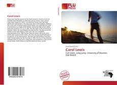 Bookcover of Carol Lewis