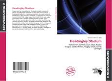 Bookcover of Headingley Stadium