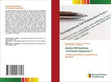 Ações Afirmativas no Ensino Superior 1 kitap kapağı